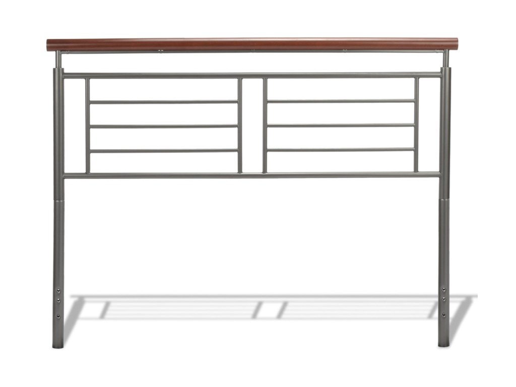 Fashion Bed Group Wood and Metal BedsKing Fontane Bed