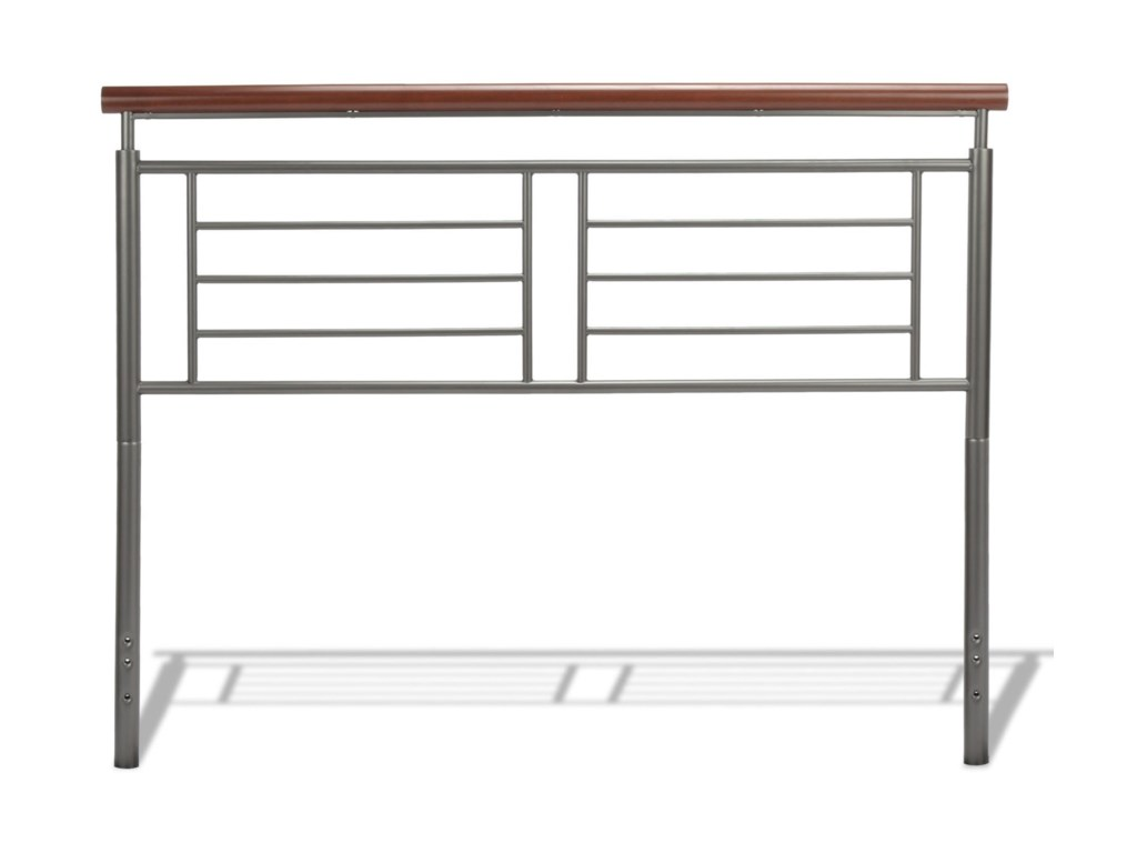 Fashion Bed Group Wood and Metal BedsQueen Fontane Headboard