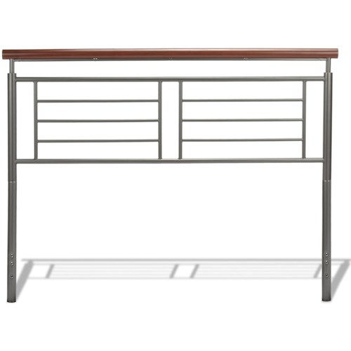 Fashion Bed Group Wood and Metal Beds Queen Fontane Headboard