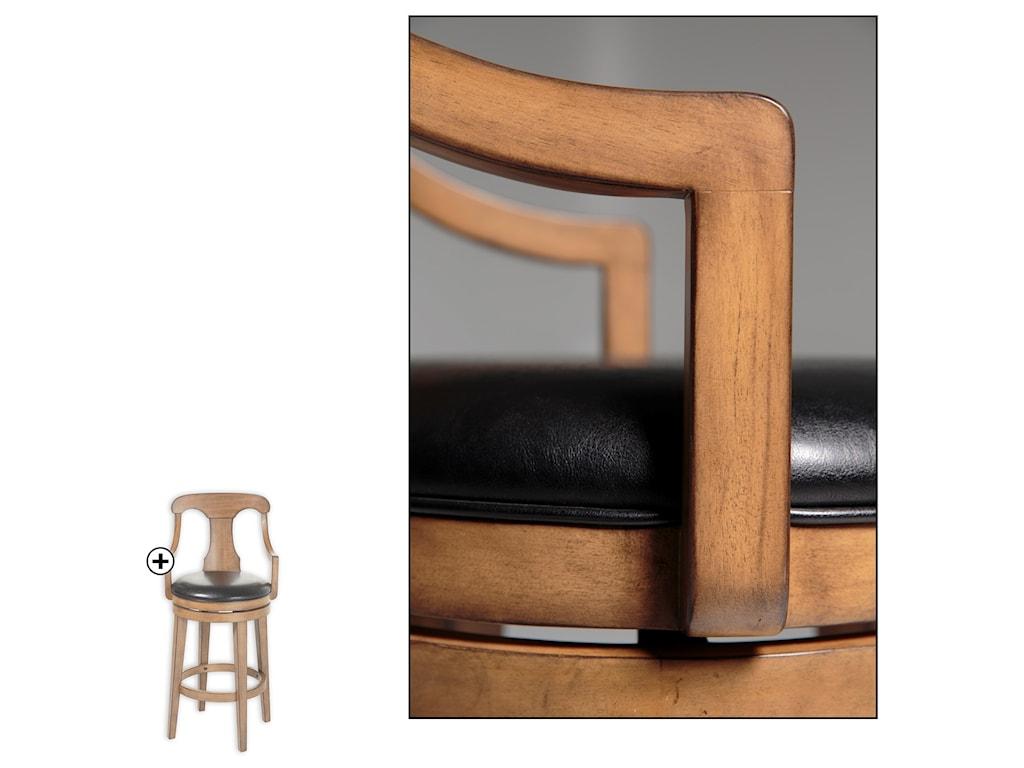 Fashion Bed Group Wood BarstoolsAlbany Wood Barstool