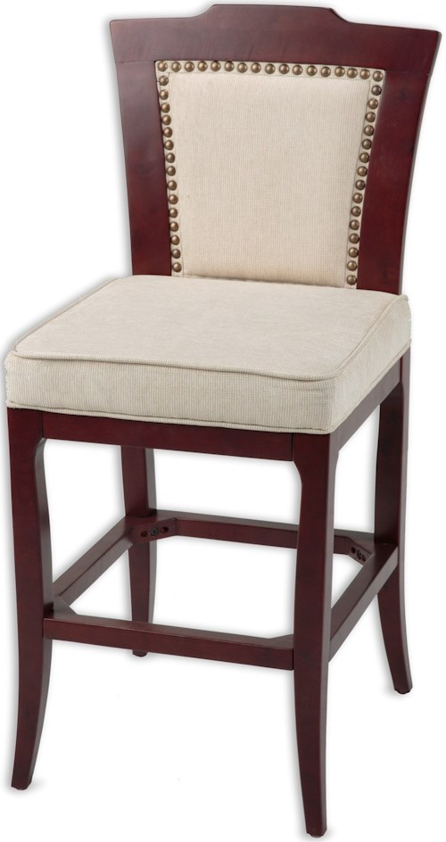 Fashion Bed Group Wood Barstools Traditional Springfield Wood Barstool