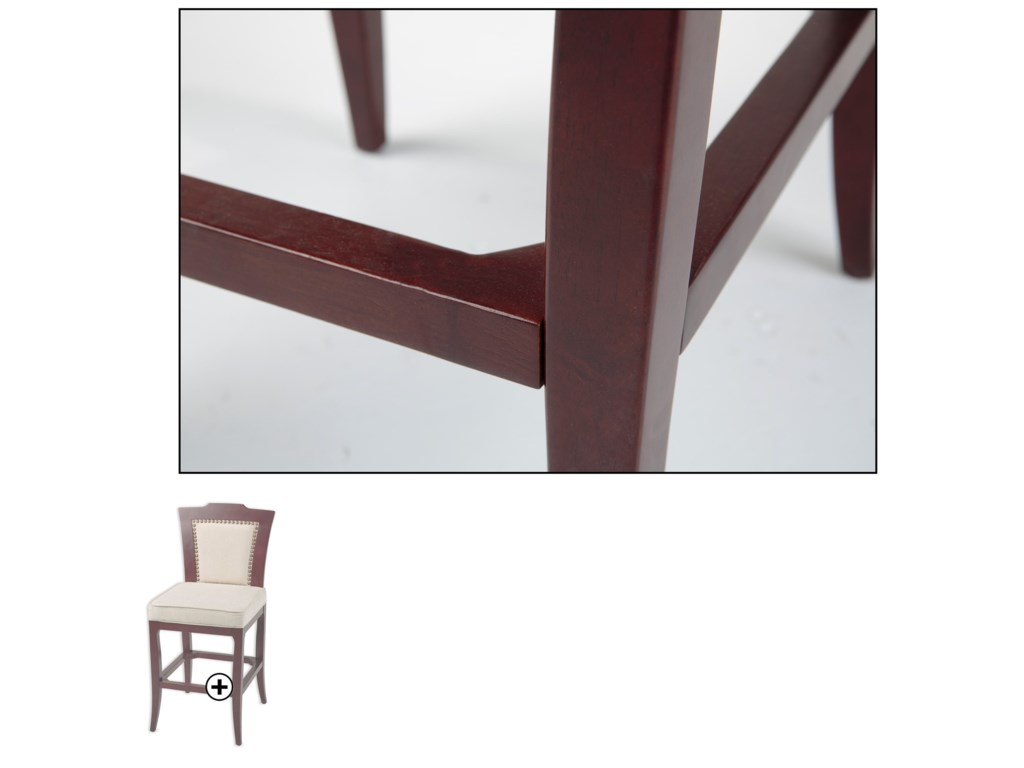 Fashion Bed Group Wood BarstoolsSpringfield Wood Barstool