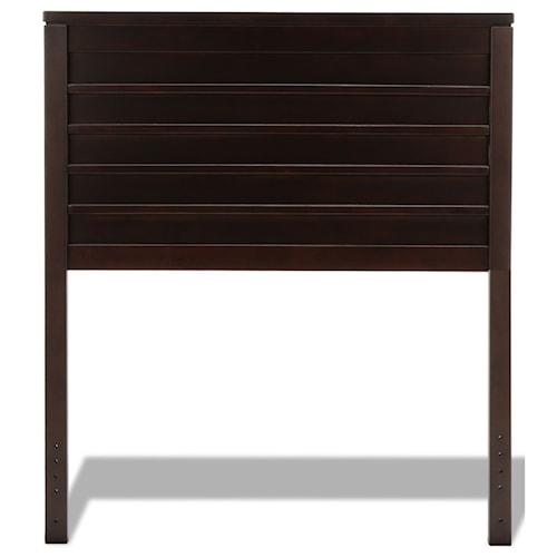 Wood Beds Twin Uptown Wood Headboard Walker S Furniture