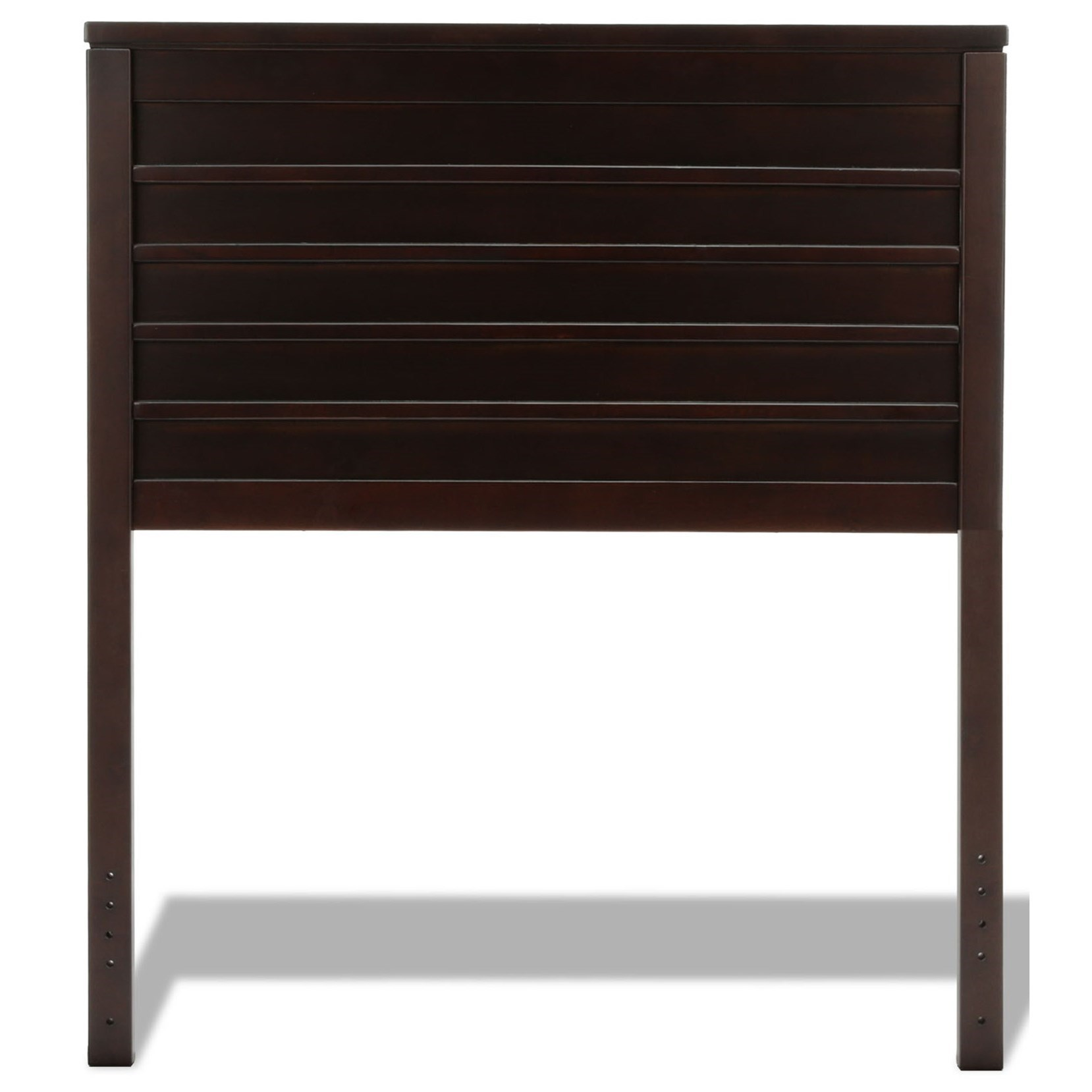 Fashion Bed Group Wood Beds Twin Uptown Wood Headboard