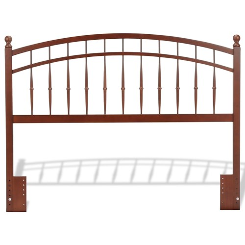 Fashion Bed Group Wood Beds Full/Queen Bailey Transitional Wood Headboard