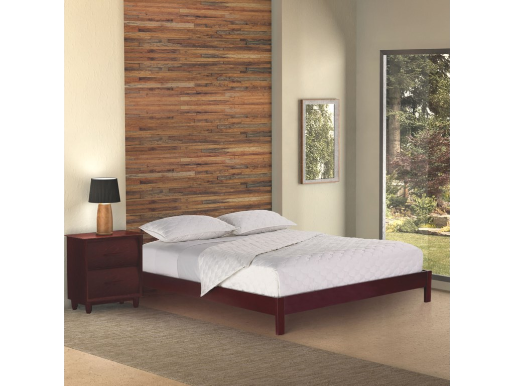 Fashion Bed Group Wood BedsTwin Murray Platform Bed