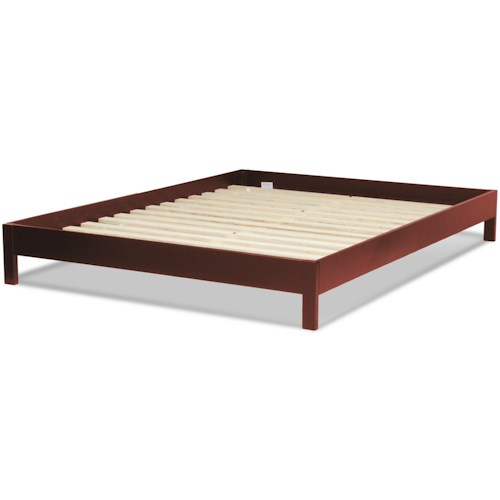 Fashion Bed Group Wood Beds Queen Murray Platform Bed