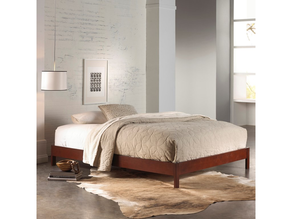 Fashion Bed Group Wood BedsQueen Murray Platform Bed