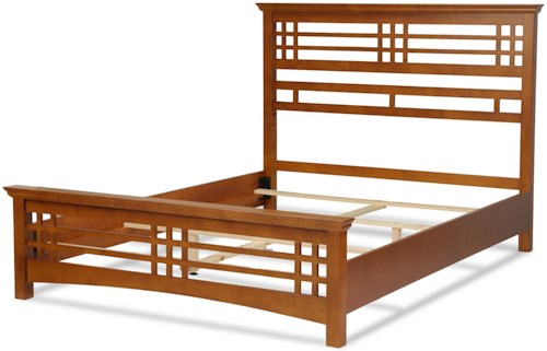 Fashion Bed Group Wood Avery King Bed