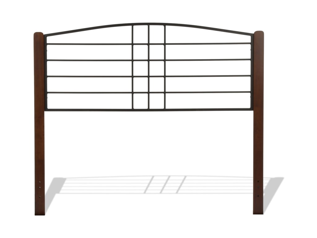 Fashion Bed Group Wood BedsKing Dayton Headboard and Footboard