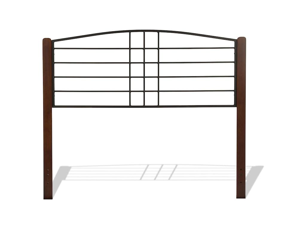 Fashion Bed Group Wood BedsKing Dayton Headboard