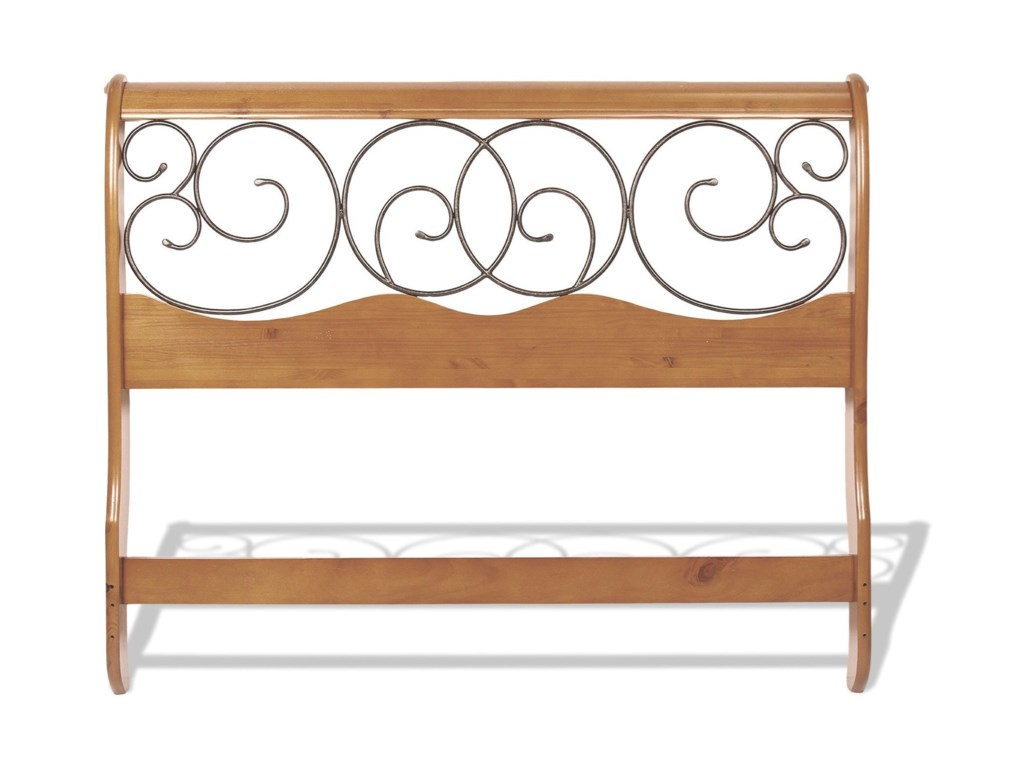 Fashion Bed Group Wood BedsCal King Dunhill I Headboard