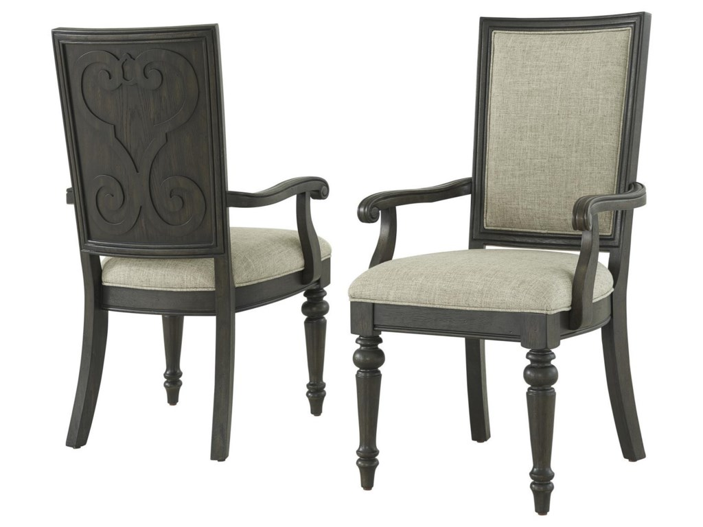 FD Home San MarcosDining Table, 4 Side Chairs & 2 Arm Chairs