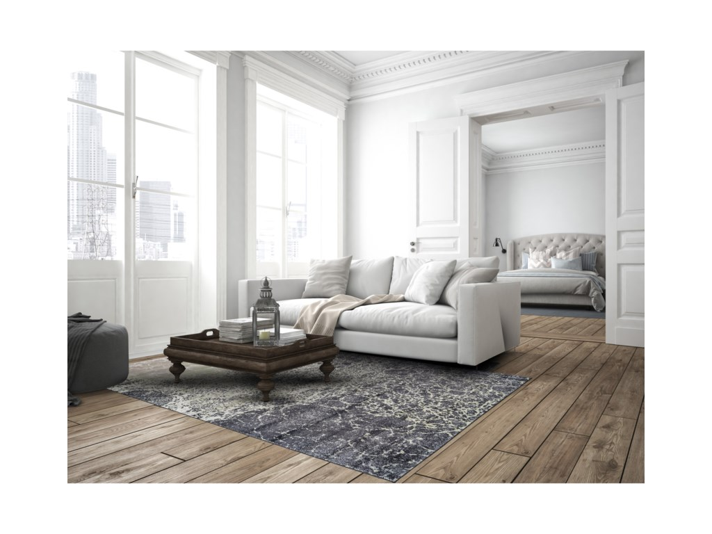 Feizy Rugs KatariCastle/Taupe 10' X 13'-2