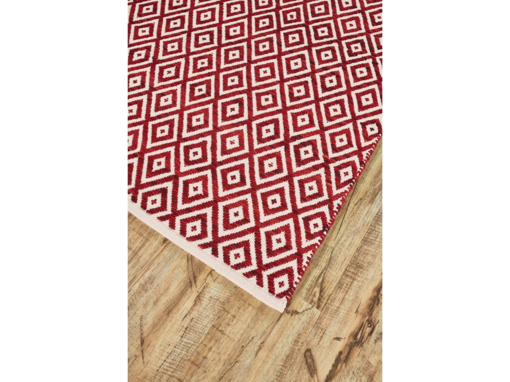 Feizy Rugs MojaveRed 2' x 3' Area Rug