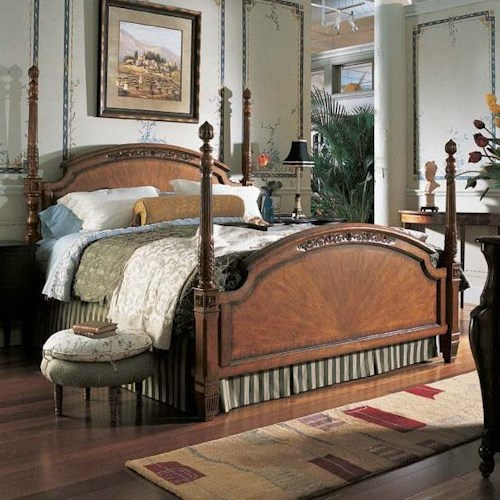 Fine Furniture Design RayLen Vineyards Queen Grand Cru Poster Bed
