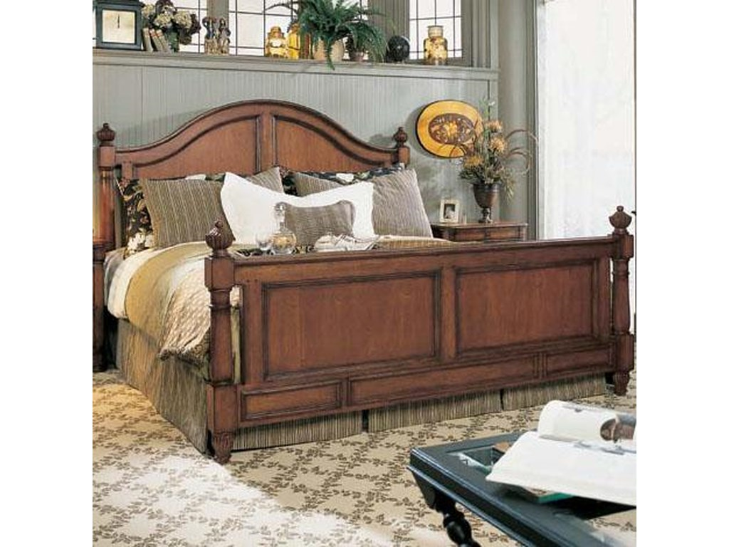 Fine Furniture Design RayLen VineyardsKing Carolinius Panel Bed