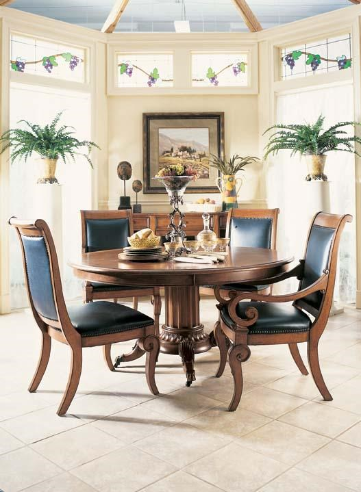 Fine Furniture Design RayLen Vineyards Bountiful Harvest Chairs And Round  Table