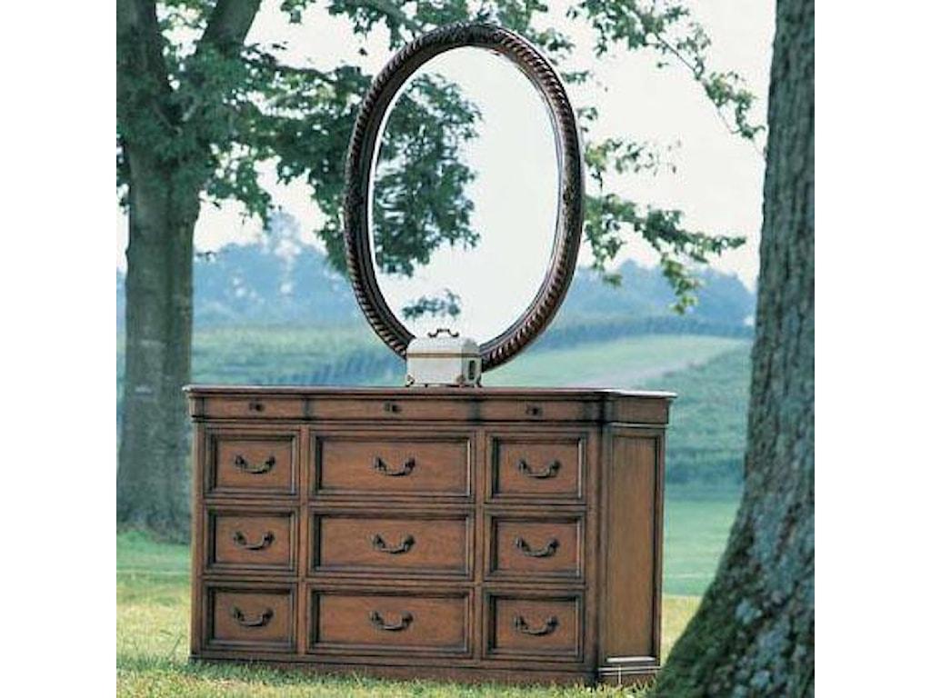 Fine Furniture Design RayLen VineyardsOval Mirror