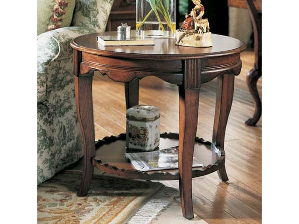 Fine Furniture Design RayLen VineyardsRound End Table