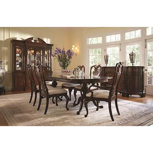 Formal Room Furniture: Fine Furniture Design American Cherry Formal Dining Room