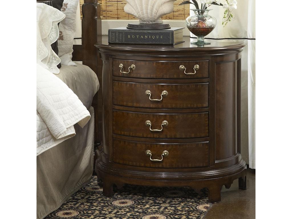 Fine Furniture Design American CherryNorfolk Demilune Chest