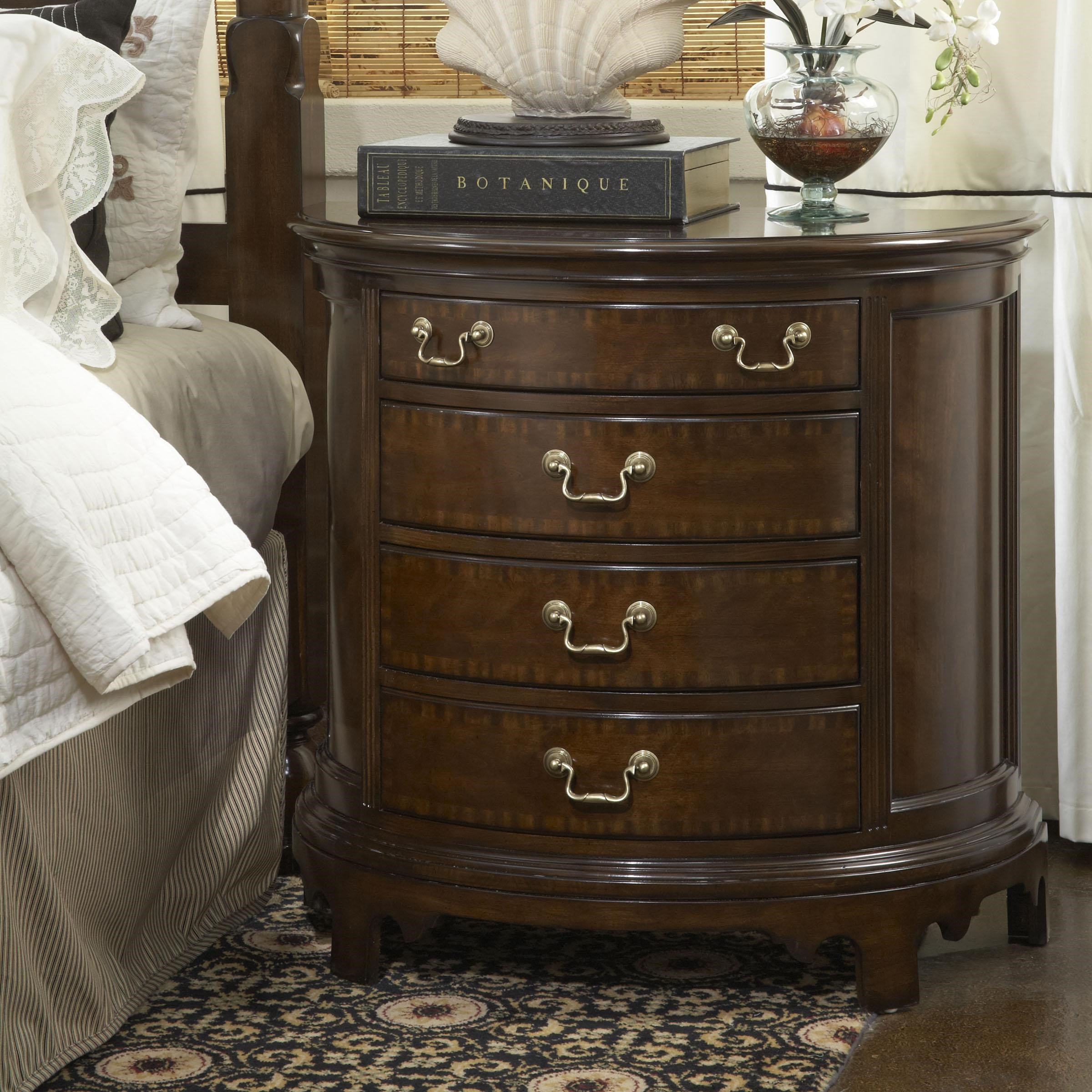 Beau Belfort Signature Belmont Norfolk Demilune Chest With Four Drawers