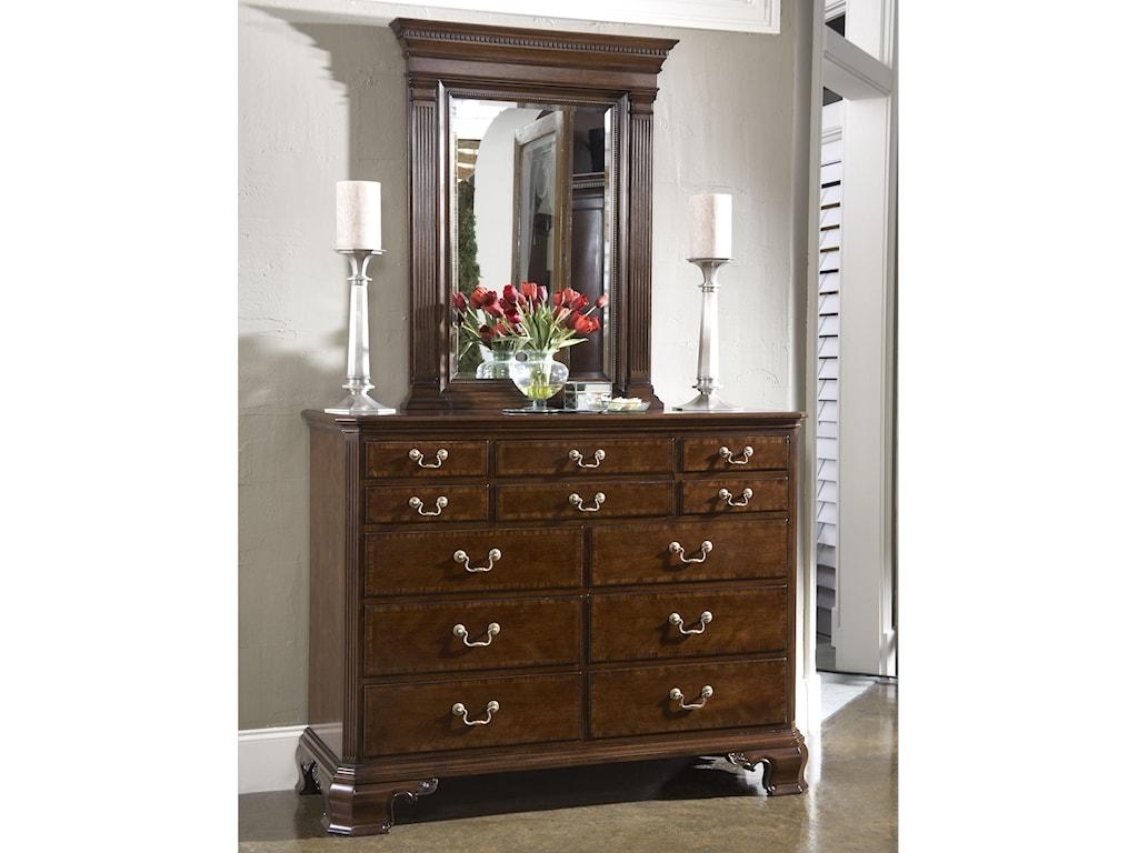 Fine Furniture Design American CherryDresser & Mirror Combo