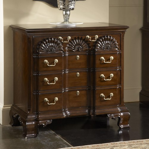 Fine Furniture Design American Cherry Franklin Goddard Chest with Four Drawers