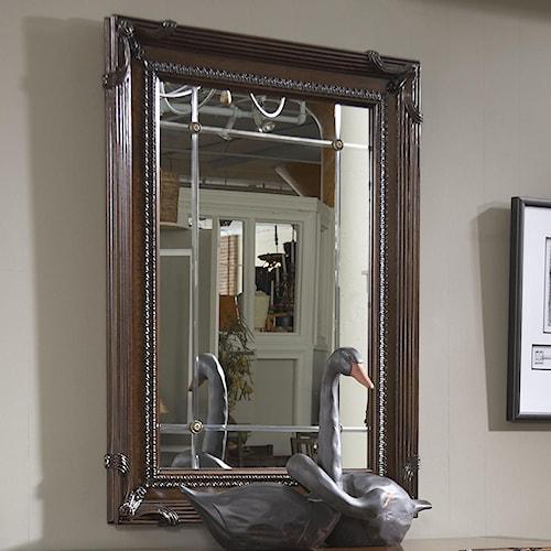Fine Furniture Design American Cherry Goddard Beveled Glass Mirror