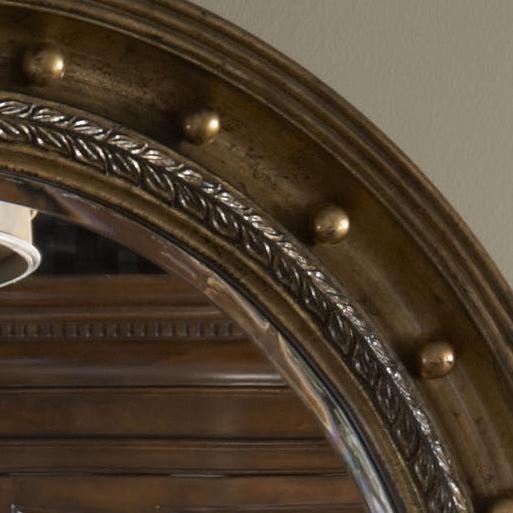 Mirror Frame Includes Gold Leaf