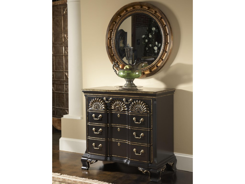 Shown with Franklin Goddard Chest in Black Chinoiserie