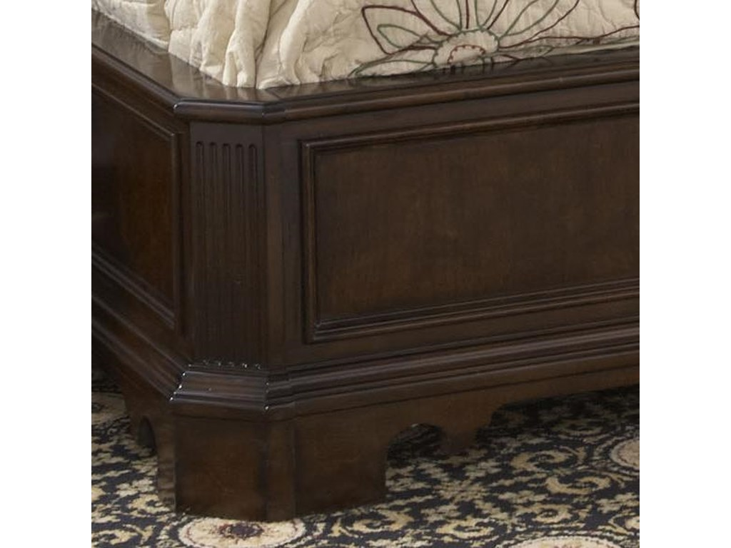 Fine Furniture Design American CherryCal King Charleston Platform Panel Bed