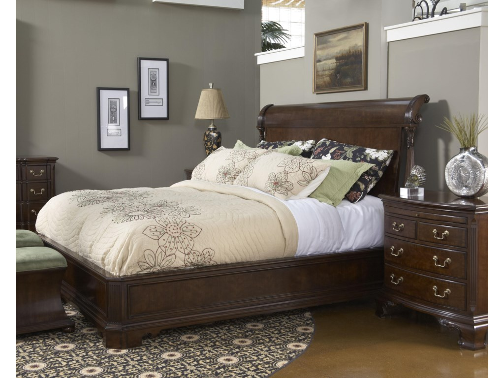 Shown with Roanoke Night Table - Bed Shown May Not Represent Size Indicated