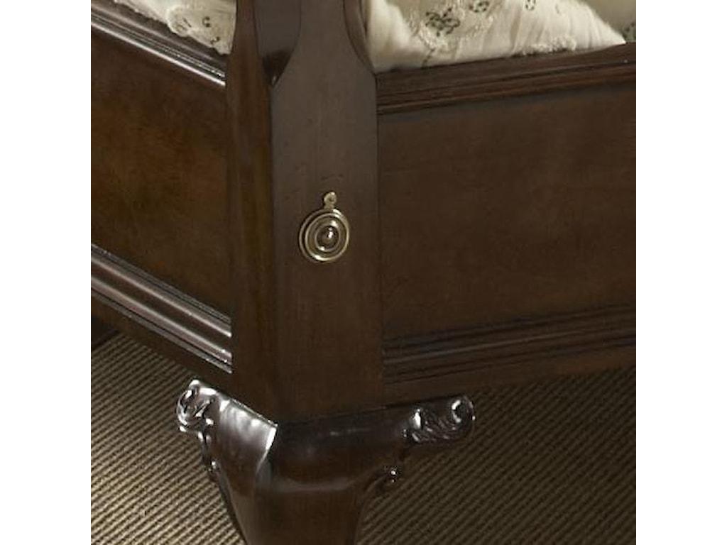 Fine Furniture Design American CherryQueen Bridgeport Pencil Post Bed