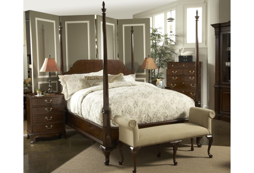 Fine Furniture Design American Cherry Bedroom Bench with ...