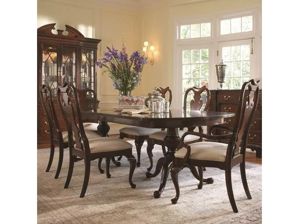 Belfort Signature Belmont7 Piece Table and Chair Set