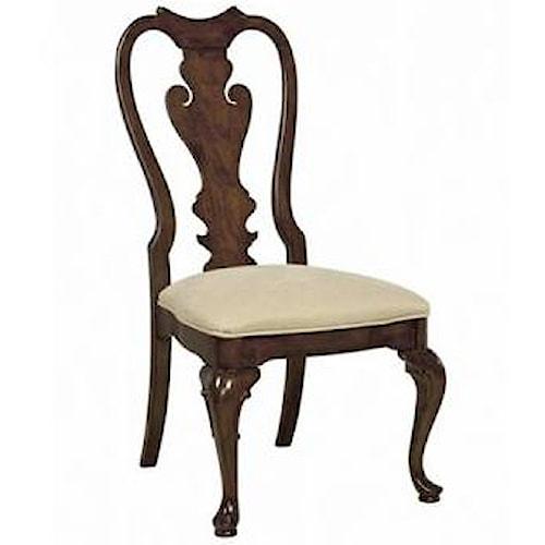 Belfort Signature Belmont Brandywine Splat Back Side Chair