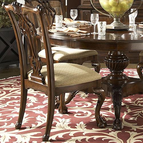 Fine Furniture Design American Cherry Alexandria Side Chair