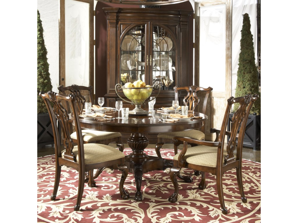 Shown with Alexandria Arm Chair, Marlborough Dining Table, and Charleston Display Cabinet