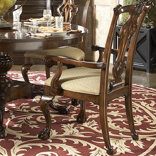 Fine Furniture Design American Cherry Alexandria Arm Chair