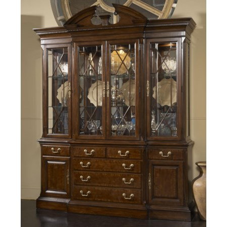 Andover Breakfront China Cabinet