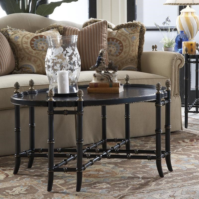 ... Belfort Signature BelmontNew London Chinoiserie Cocktail Table