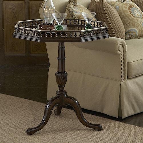 Fine Furniture Design American Cherry McIntire Pedistal Table