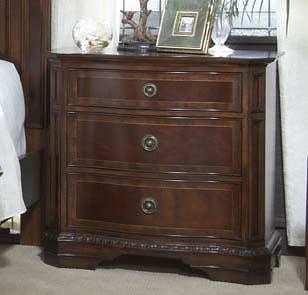 Fine Furniture Design Antebellum Traditional Nightstand with 3 Drawers