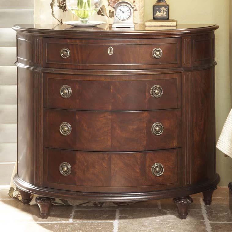 Superbe Fine Furniture Design Antebellum Demilune Chest With Drawers
