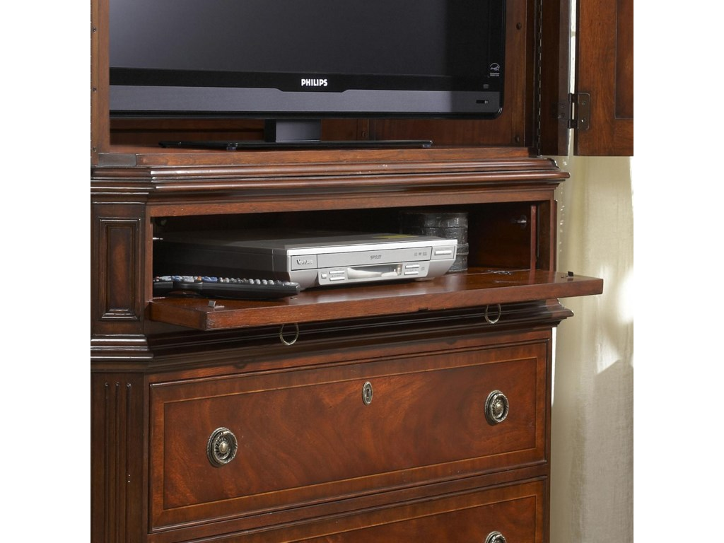 Drop Front Drawer