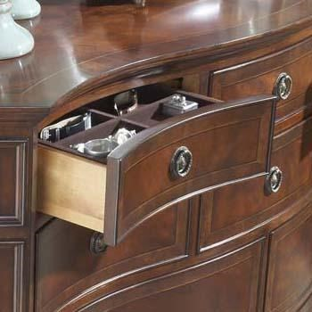 Drawer with Tray for Sorting Jewelry
