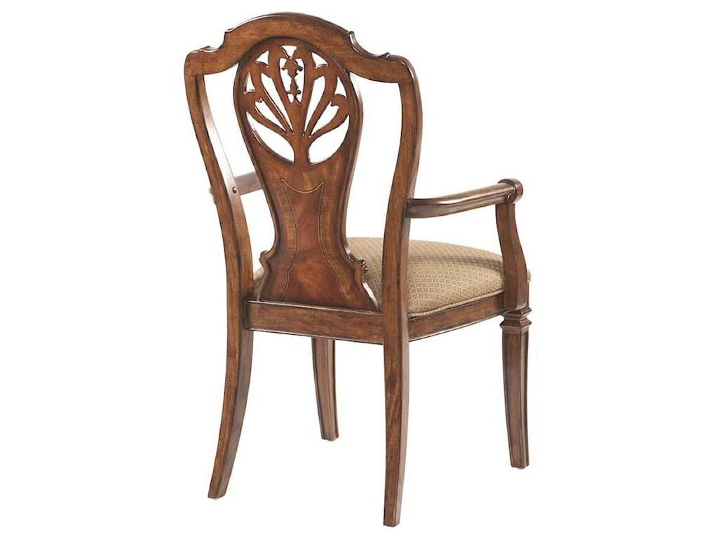 Belfort Signature WestviewSplat Back Arm Chair