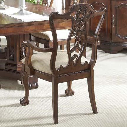 Fine Furniture Design Antebellum Ball Claw Dining Room Arm Chair Delectable Arm Chair Dining Room Design